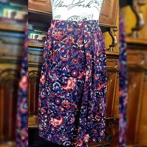 2x Lularoe Madison Skirt has Pockets! Pasiley